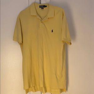 🐎 Polo by Ralph Lauren Men's Yellow Polo - L 🐎